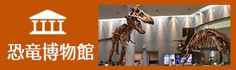 恐竜博物館のバナー