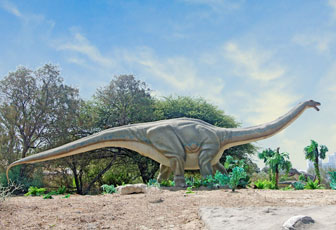 アパトサウルスのイラスト