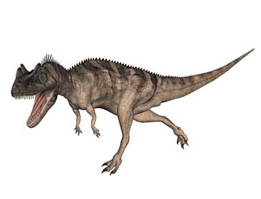 ケラトサウルスのイラスト