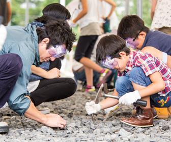 福井県勝山市どきどき恐竜発掘ランド
