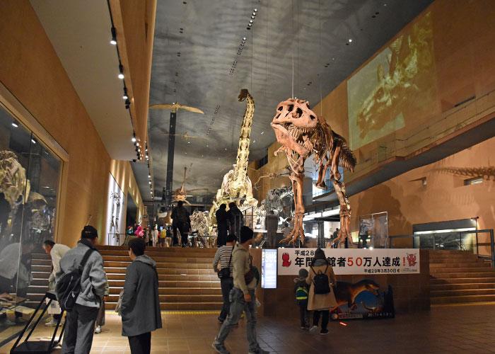 北九州市立いのちのたび博物館のアースモール