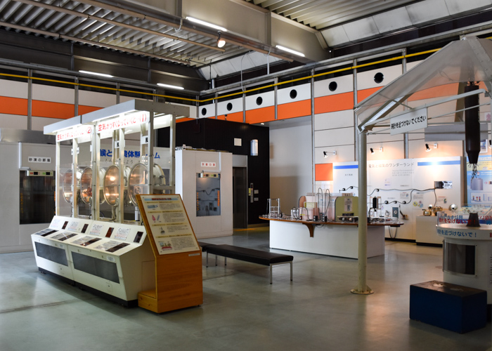 京都市青少年科学センターの第二展示室