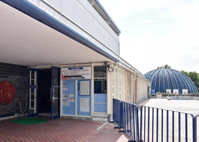 京都市青少年科学センターの入口