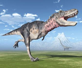 タルボサウルスのイラスト